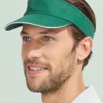 Preise für Arbeitsbekleidung T-Shirts und California Cap grün Busitex