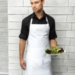 Preise für Arbeitsbekleidung T-Shirts und Schürze schlicht von Busitex