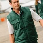 Preise für Arbeitsbekleidung T-Shirts und Workwear Bodywarmer von Busitex